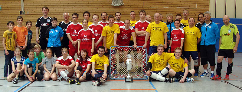 Gruppenbild zum Abschluss der Saison 2014/2015